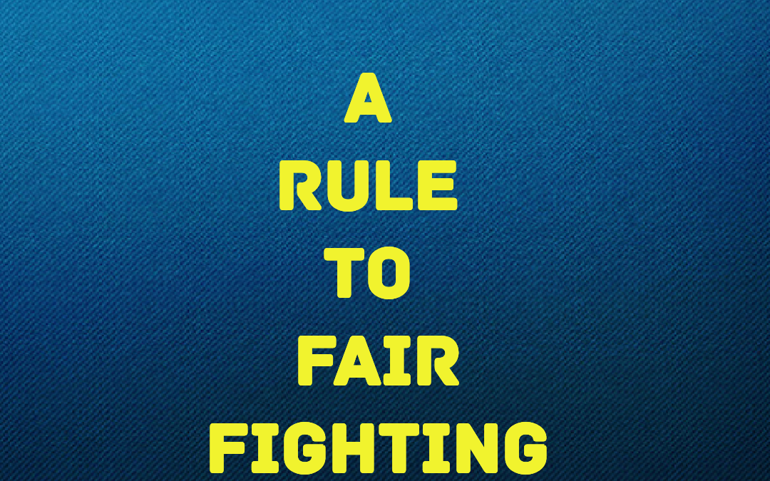 Fair Fighting Rules
